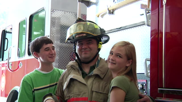Fireman and Family video