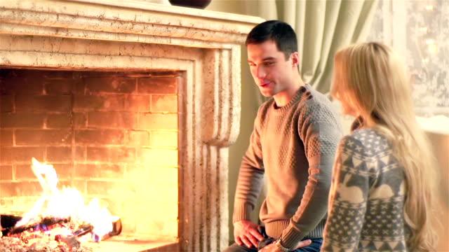 Fireplace Couple video