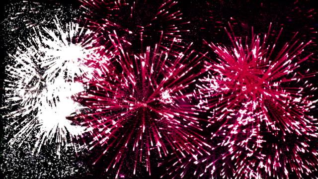 firework display flag of qatar video