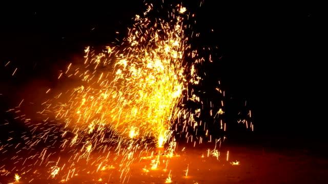 4K Firework Display 4K Firework Display happy 4th of july videos stock videos & royalty-free footage
