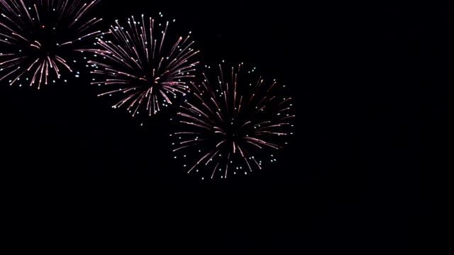 Firework Display video