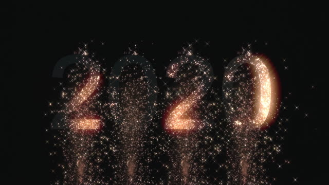 Firework happy new year 2020 Firework happy new year 2020 2020 stock videos & royalty-free footage