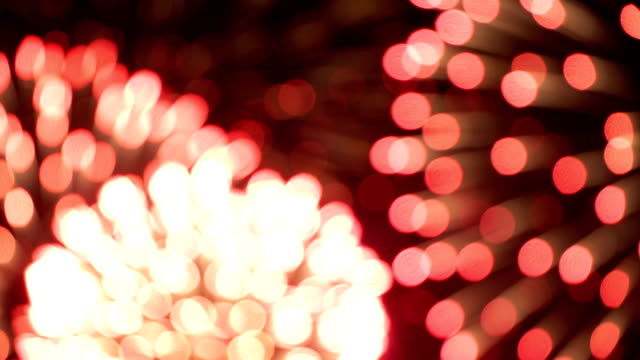 Firework in blur - concept of completion of any holiday: Chinese new year, New year, Christmas, wedding, birthday, Valentines day, Thanksgiving, independence day and Brazilian carnival video