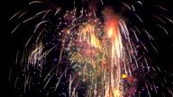 istock Firework in the night sky 1271981110