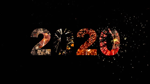 2020 Firework Word. Numeric firework 2020 2020 stock videos & royalty-free footage