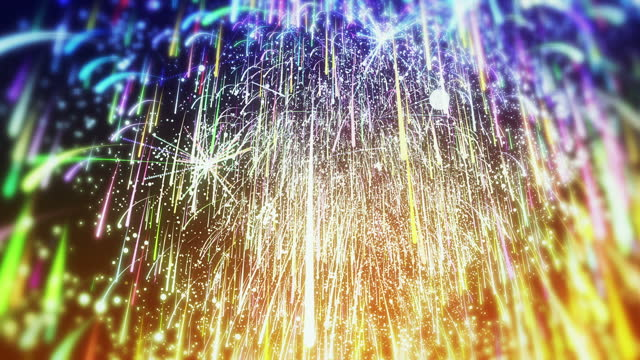 Fireworks background animation