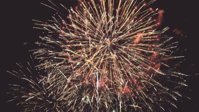 Fireworks background seamless loop