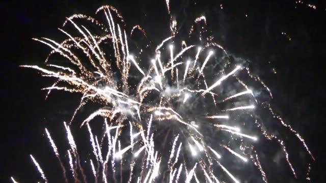 fireworks bonfire night fire video