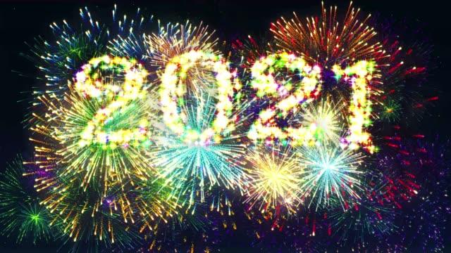 Fireworks Display countdown 2021 video