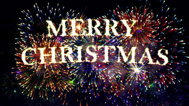 メリークリスマスの花火大会 ビデオ