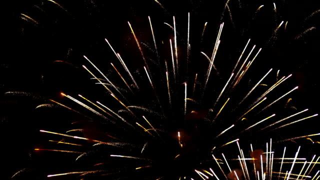 Fireworks Exploding in Sky Fireworks exploding in the sky. happy 4th of july videos stock videos & royalty-free footage