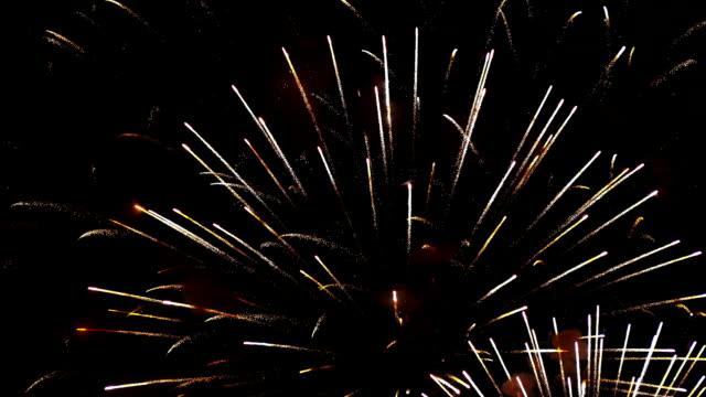Fireworks Exploding in Sky video