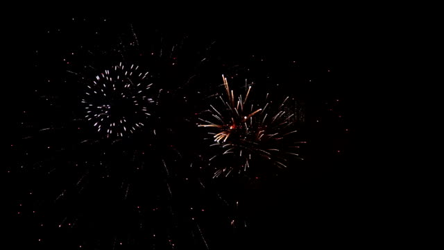 Fireworks Grand Finale Seamless Loop Seamless loop features a fantastic pyrotechnic display filling the night sky with light and color. 30 seconds. firework explosive material stock videos & royalty-free footage