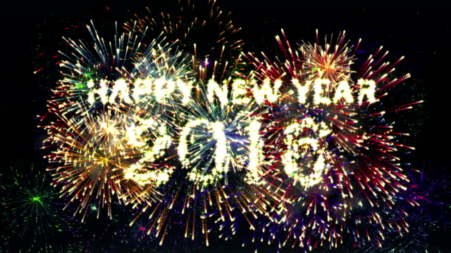 Fireworks Happy new year 2016 video