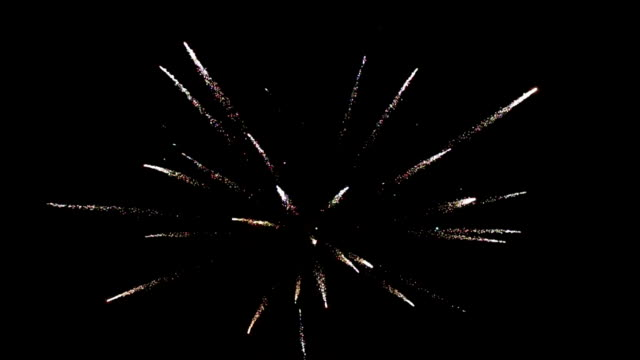 Fireworks In Night Sky Fireworks in night sky wedding day bastille day stock videos & royalty-free footage