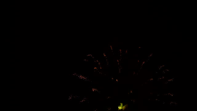 Fireworks Light Up In The Sky With Dazzling Display video