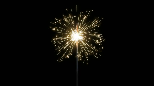 fireworks sparkler loops - happy 4th of july stock videos & royalty-free footage