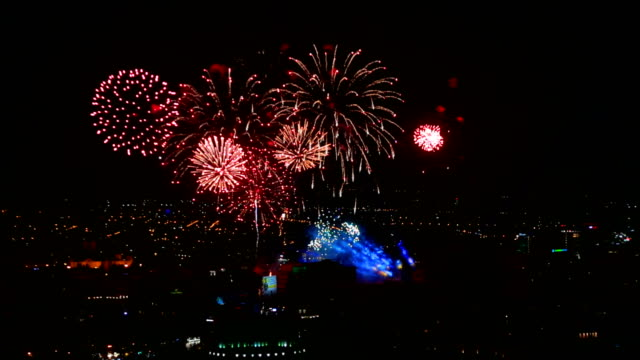 Fireworks Beautiful Fireworks footage. Firework for your holidays, special events, new year and Christmas projects. petard stock videos & royalty-free footage