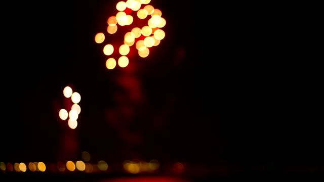 фейерверки - new year стоковые видео и кадры b-roll