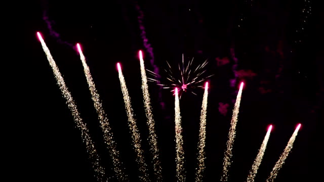 fireworks fireworks bastille day stock videos & royalty-free footage