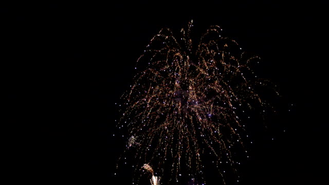 Fireworks with sound video
