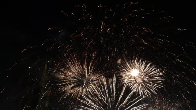 Fireworks with Sound Fireworks with Sound fireworks videos stock videos & royalty-free footage