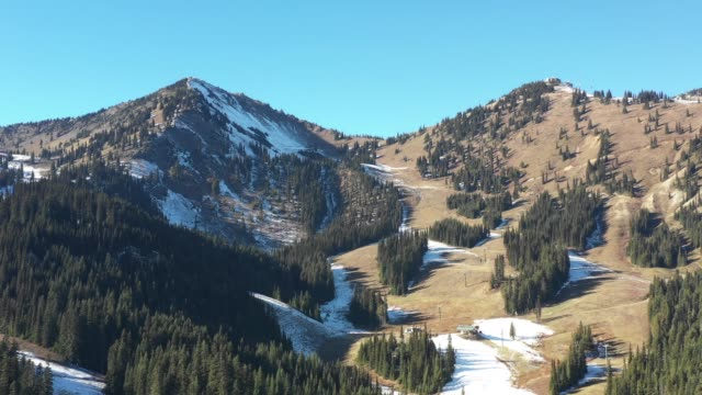 First Snow on Ski Resort First Snow on Ski Resort first occurrence stock videos & royalty-free footage