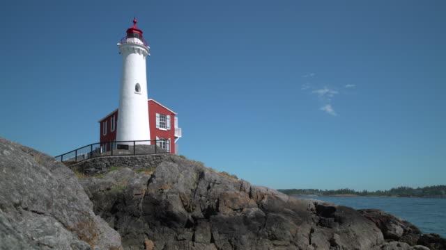Fisgard Lighthouse, Victoria, British Columbia 4K UHD video