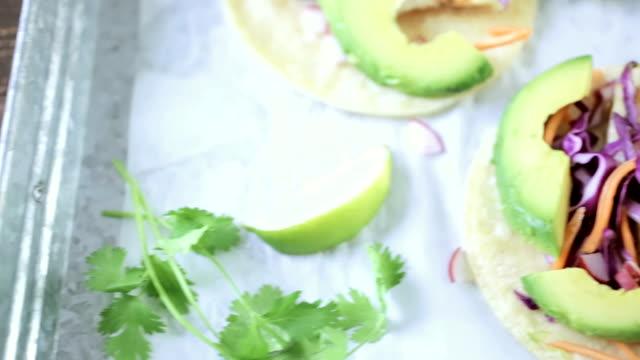 Fish taccos video