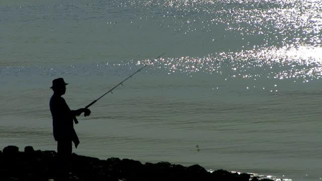 fischer - fischköder stock-videos und b-roll-filmmaterial