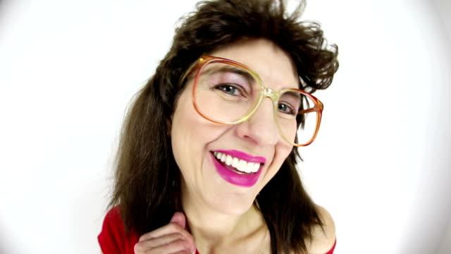 Fisheye Flirty 80's Nerd video