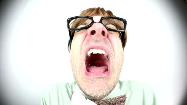 Fisheye Sneezing Guy video