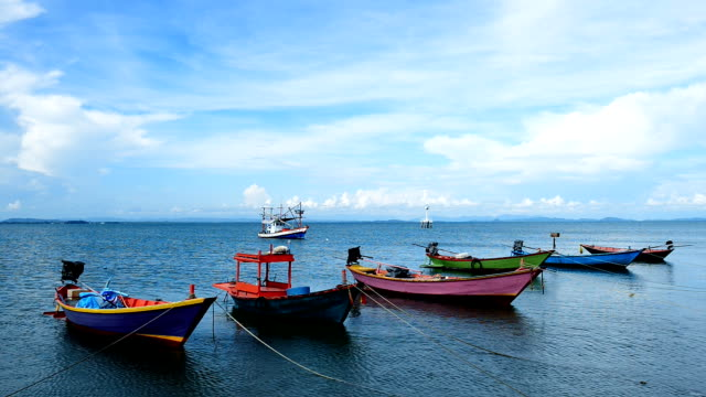 Fishing Boats in Thailand video