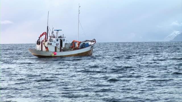 hd: fishing - fiskebåt bildbanksvideor och videomaterial från bakom kulisserna