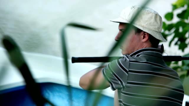 HD CRANE: Fishing video