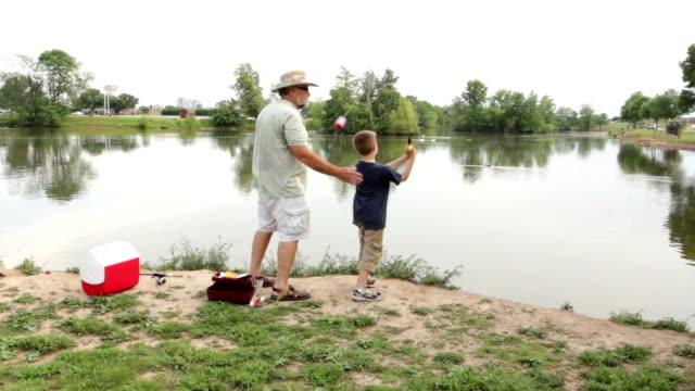 Fishing with Grandpa video