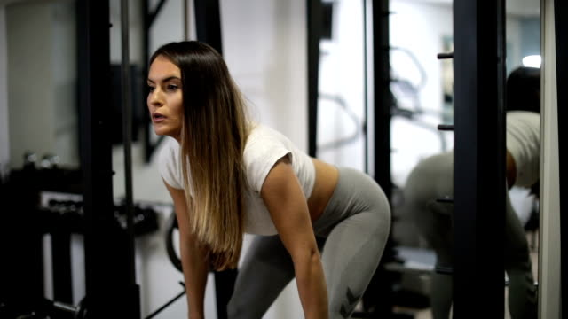 Fit girl training video
