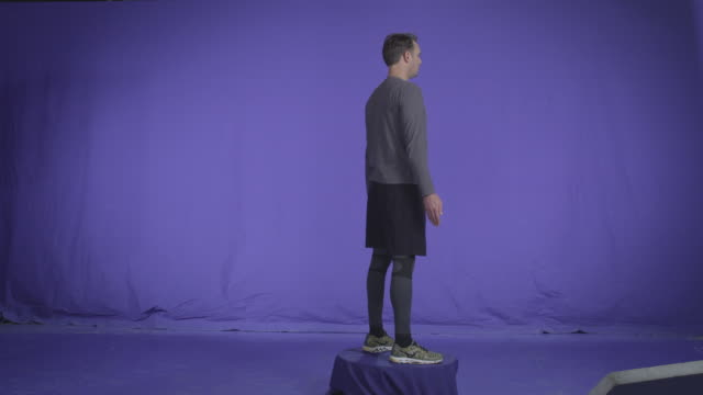 Fit Man Spinning. Full Body Spots Chroma key 4K Resolution, Fit Man Rotating. Full Body Spots Chroma key 50mm lens full length stock videos & royalty-free footage