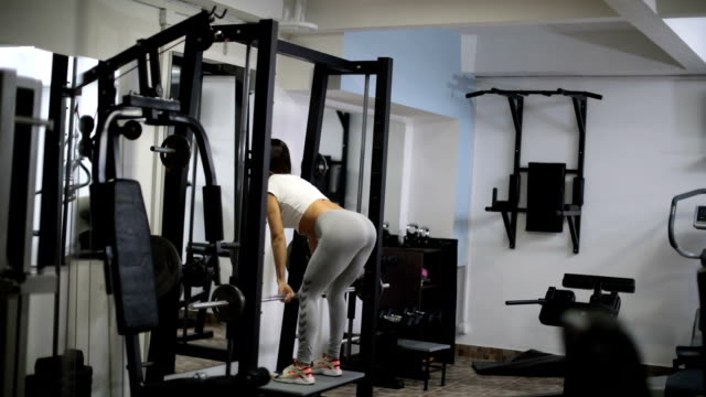 Fit woman training video