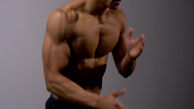 Fitness Model Exercises video