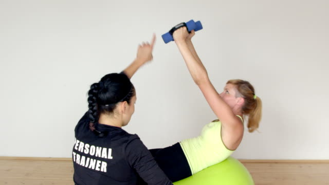fitness personal trainer video