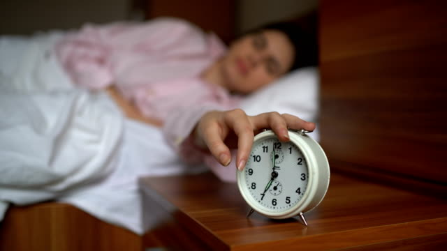 five more minutes to nap - sonnecchiare video stock e b–roll
