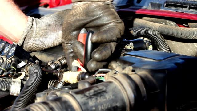 Fixing car video