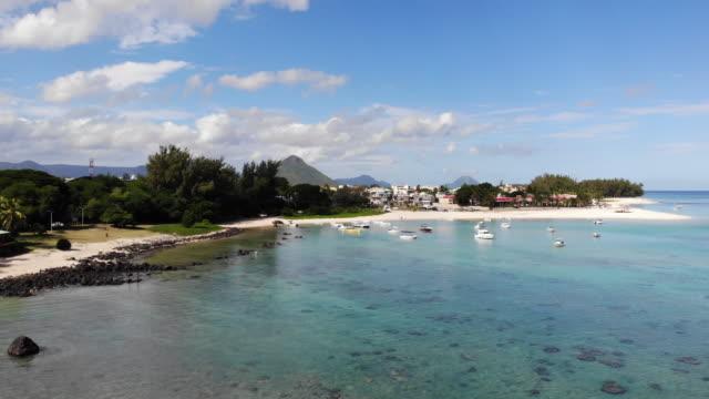 flac cop, mauritius - isole mauritius video stock e b–roll