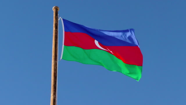 Flag  Azerbaijan - video