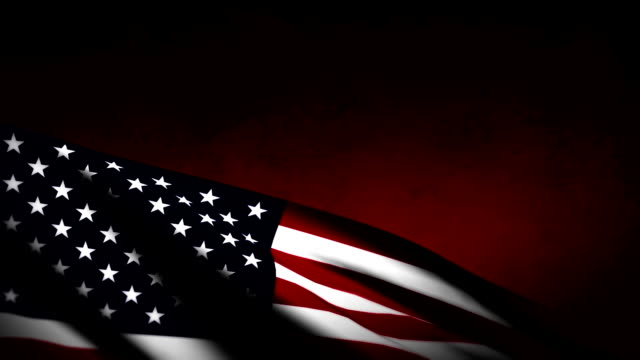 미국 플랙 배경기술 - veterans day 스톡 비디오 및 b-롤 화면