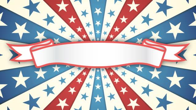 Flag Banner video