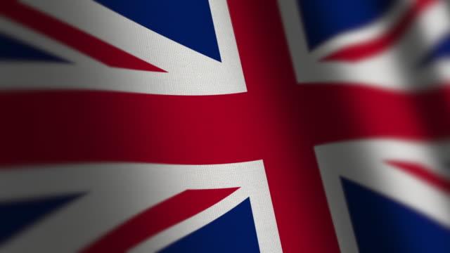 UK Flag - Grunge. video