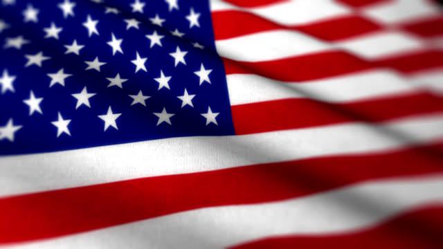 US Flag HD Loop video