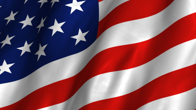 usa flag hd - waving, looping - american flag stock videos & royalty-free footage